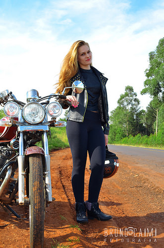 motorcycle style photo