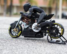 3D Printed RC Motorcycle