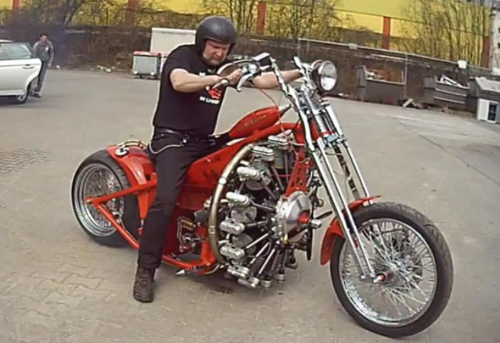 Red Baron Motorcycle