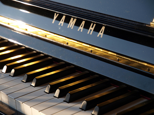 yamaha piano photo